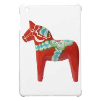 Red Swedish Dala Horse iPad Mini Cases