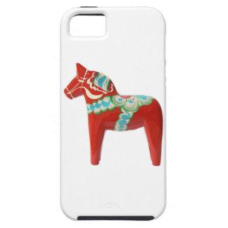 Red Swedish Dala Horse iPhone 5 Cover