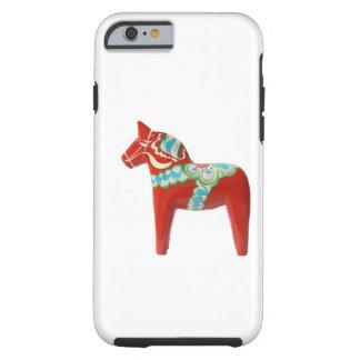Red Swedish Dala Horse iPhone 6 Case