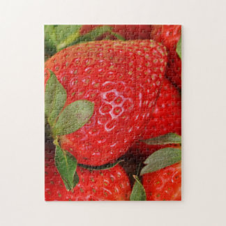 Red Sweet Strawberries Jigsaw Puzzle