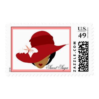 Red Sweet Suga Stamp