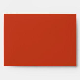 Red Swirl A7 Envelopes