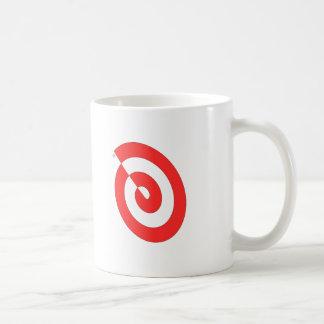 Red Swirl Coffee Mug