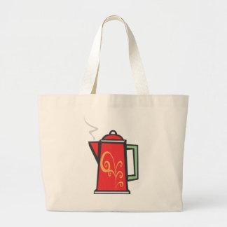 Red Swirl Coffee Pot Bags