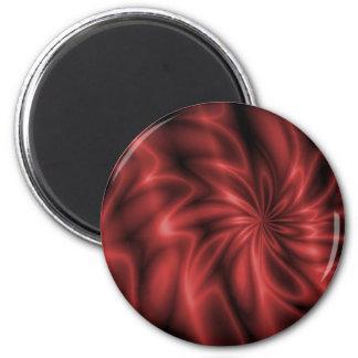 Red Swirl Magnet