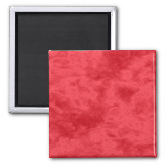 Red Swirl Magnet - Square