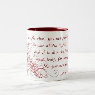 Red Swirl Mug
