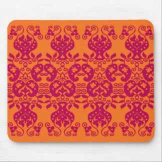 Red Swirls&Paisley Decorative Pattern mousepad