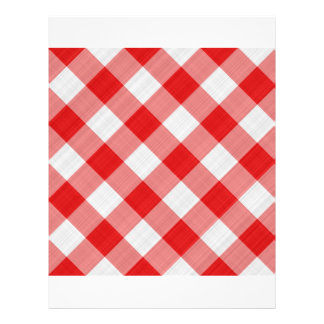 red table cloth personalized flyer