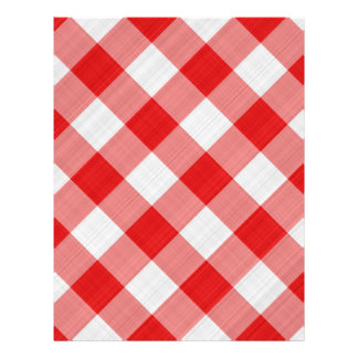 red table cloth flyer