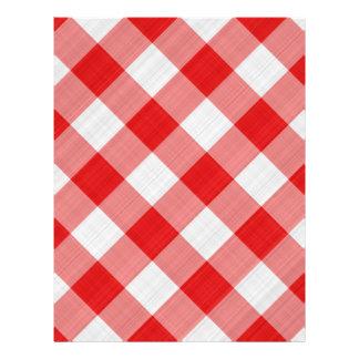 red table cloth custom flyer
