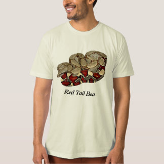 Red Tail Boa Organic T-Shirt