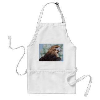 Red-tail Hawk airbrush Adult Apron