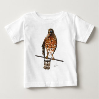 Red Tail Hawk Baby T-Shirt