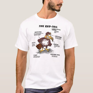 Red-tail Hawk Cartoon T-Shirt