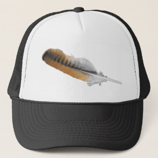 Red-tail Hawk feather Trucker Hat