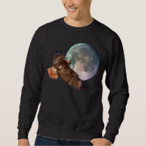 Red-Tail Hawk & Full Moon Wildlife Shirt
