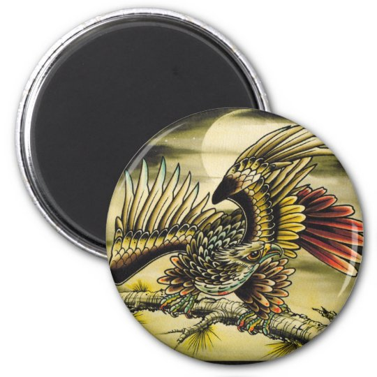 """""""Red Tail Hawk"""" Magnet"""
