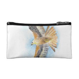 Red Tail Hawk Makeup Bag