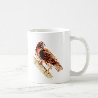 Red Tail Hawk Classic White Coffee Mug