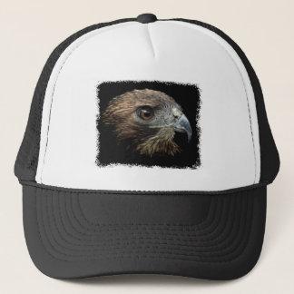 Red-tail Hawk pastel Trucker Hat