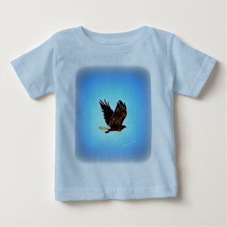Red Tail Hawk Picture Baby T-Shirt