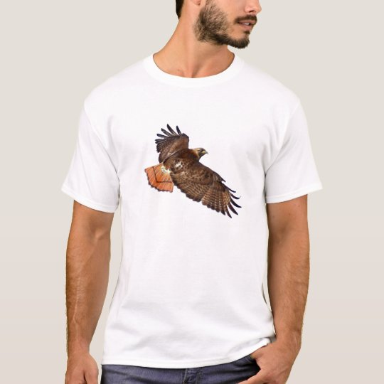 Red-Tail Hawk Wildlife Shirt
