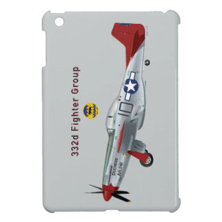 Red Tail P-51D Mustang of the 332d Fighter Group iPad Mini Covers