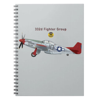 Red Tail P-51D Mustang of the 332d Fighter Group Notebook