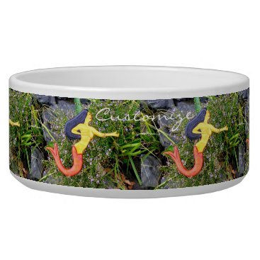 Beach Themed red-tail sirena mermaids bowl