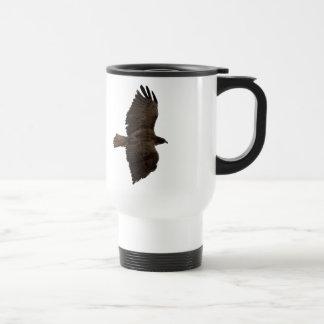 Red-tail sketch travel mug