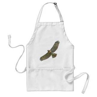red-tail soaring Apron