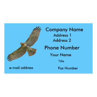 red-tail soaring Double-Sided standard business cards (Pack of 100)