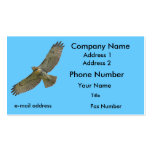 red-tail soaring business card template