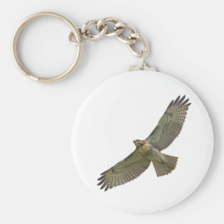 red-tail soaring Keychain