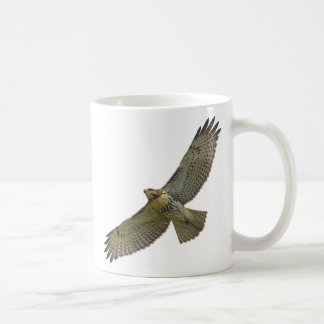 red-tail soaring Mug