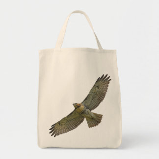 red-tail soaring Tote