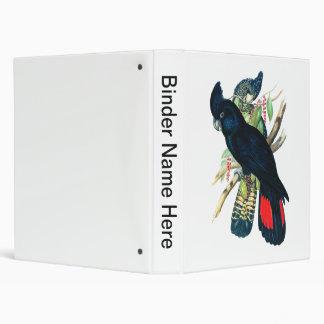 Red tailed, Black (Banksian) Cockatoos. Binder