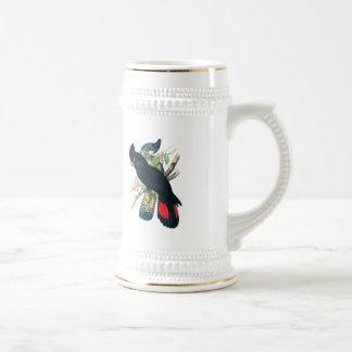 Red tailed, Black (Banksian) Cockatoos. Coffee Mugs