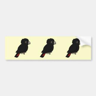 Red-tailed Black Cockatoo Bumper Sticker
