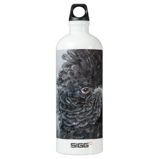 Red Tailed black Cockatoo SIGG Traveler 1.0L Water Bottle