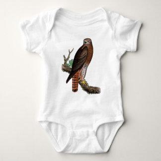 Red-tailed Black Hawk Baby Bodysuit