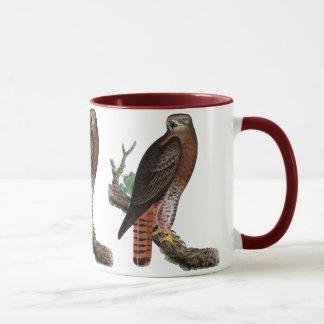 Red-tailed Black Hawk Mug
