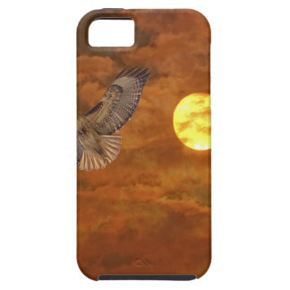 Red Tailed Hack and Red Skies iPhone 5 Covers