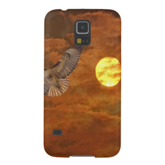 Red Tailed Hack and Red Skies Galaxy S5 Cover
