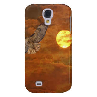 Red Tailed Hack and Red Skies Samsung S4 Case