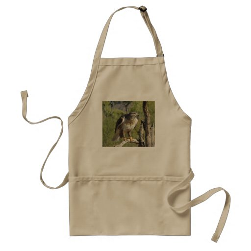 Red Tailed Hawk Apron