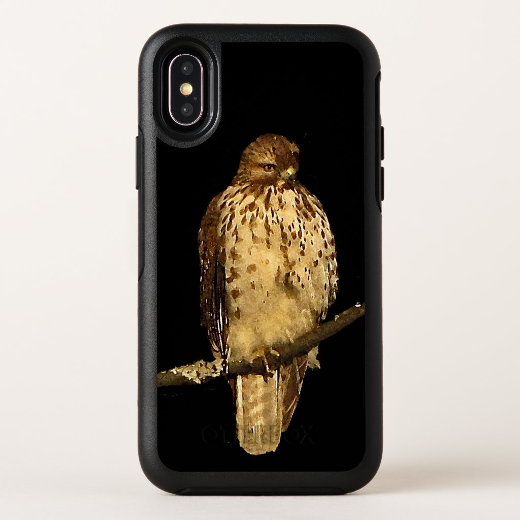 Red Tailed Hawk Bird OtterBox iPhone X Case