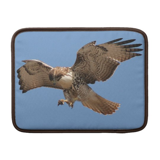 Red Tailed Hawk Bird Raptor Wildlife Animals MacBook Air Sleeve