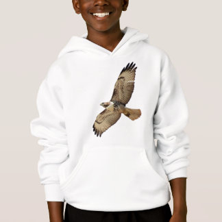 Red Tailed Hawk Bird Wildlife Animal Kids T-Shirt